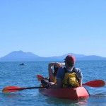 Guided sea kayaking tour