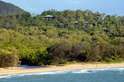 Thala Beach Lodge from Beach