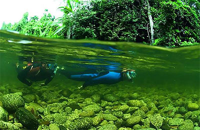river snorkelling