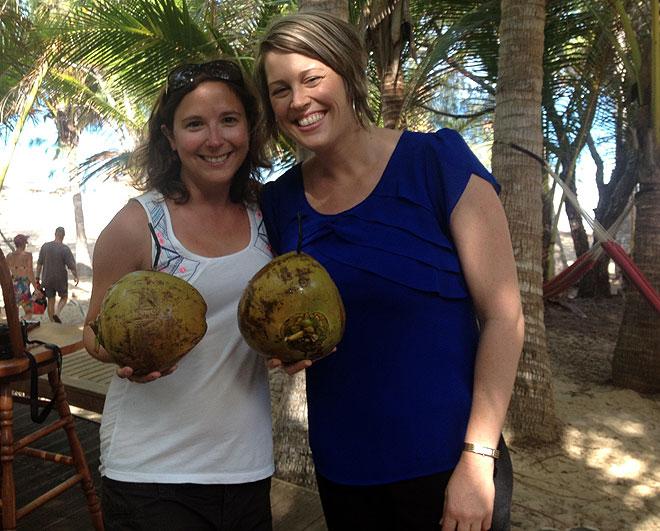 Thala Beach Lodge is Coconut Crazy