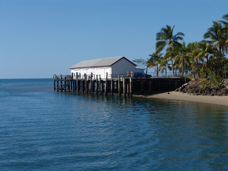 The old sugar wharf at Port Douglas 2