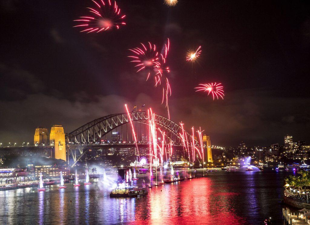 Australia Day Sydney fireworks