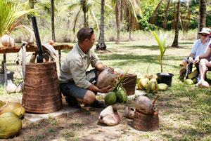 Carl talking Coconuts