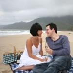 Beach picnic on Oak Beach