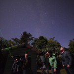 Stargazing tour from onsite observatory