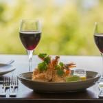 Dining at Osprey's Restaurant