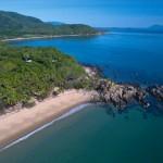 Oak Beach is 2km of pristine private access beach
