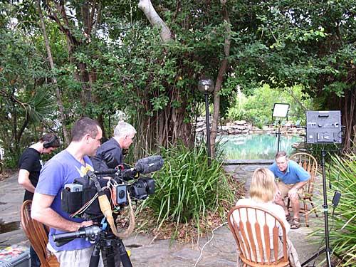 seven television crew