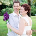 Wedding couple at Thala Palm Plantation