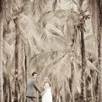 Palm Plantation Wedding Photoshoot