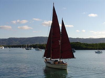 sunset sail port douglas