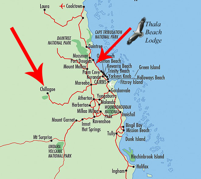 chillagoe location map