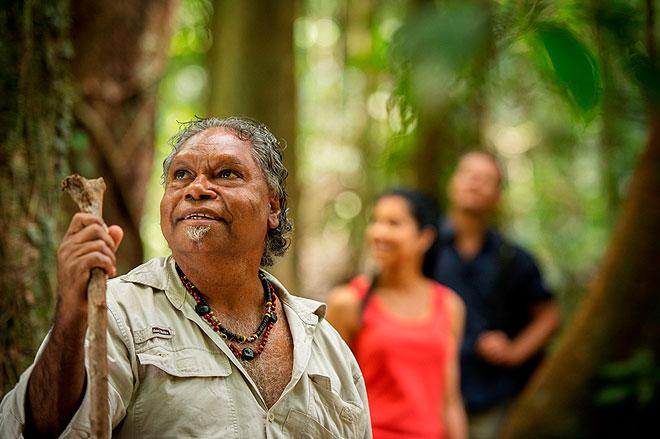 Kuku Yalanji Originating From The Rainforest Of Far