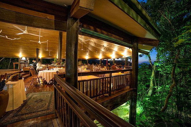 Ospreys restaurant Thala Beach Lodge Port Douglas