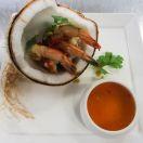 dining coconut prawns132
