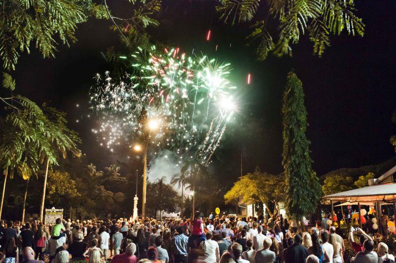 Carnivale fireworks