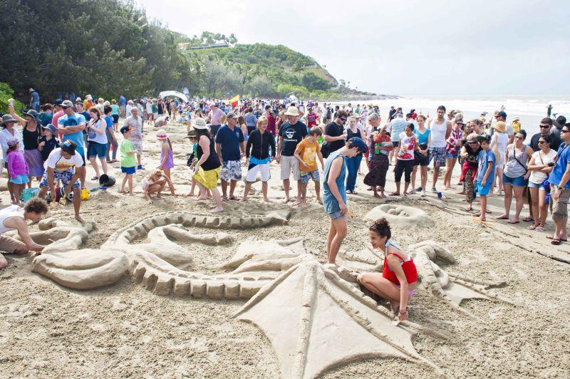 Carnivale sandcastle comp