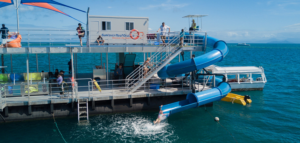 Sunlover Reef Cruises new pontoon2