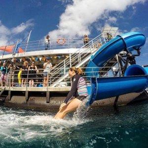 Sunlover Reef Cruises new pontoon