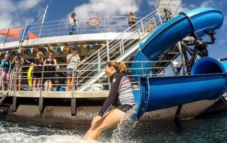 Sunlover Reef Cruises new pontoon