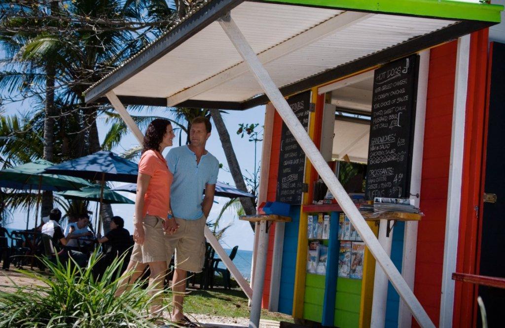 Mission Beach food hut